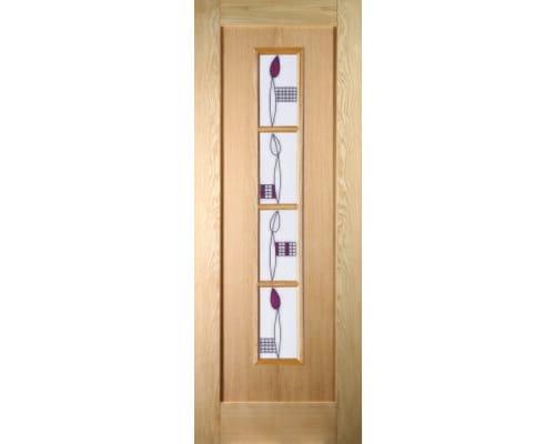 Shaker 4 Light Mackintosh Oak Internal Doors