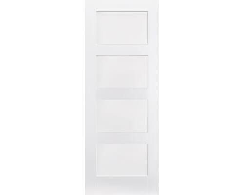 White Shaker 4 Panel Internal Doors