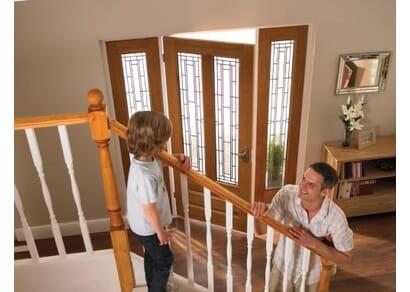 External Oak Door Frames