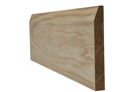 LPD Oak Faced Chamfered Skirting