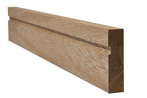 LPD Oak Faced Single Groove Architrave