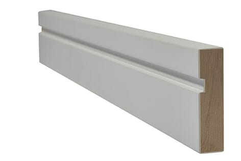LPD White Primed Single Groove Architrave