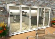 Climadoor White Aluminium Bifold Doors - Part Q Compliant Image