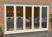 Climadoor Upvc Bifold Doors - White High Security Image