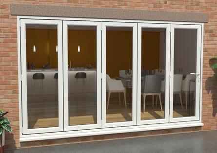 Climadoor UPVC Bifold Doors - White High Security