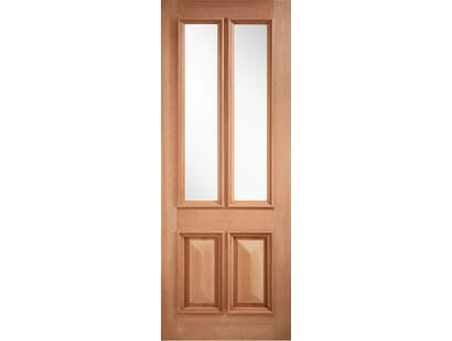 Hardwood Islington Unglazed External Door Image