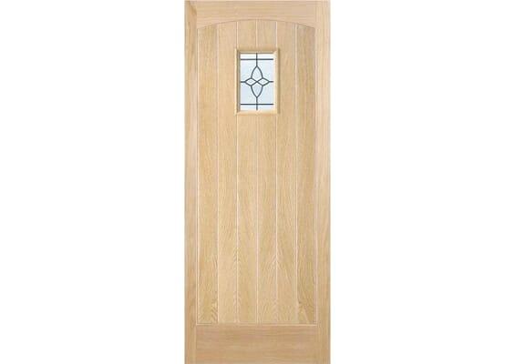 Brassington 1L Oak External Doors