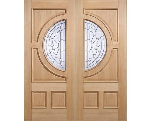 Empress Oak Door Pairs External Doors