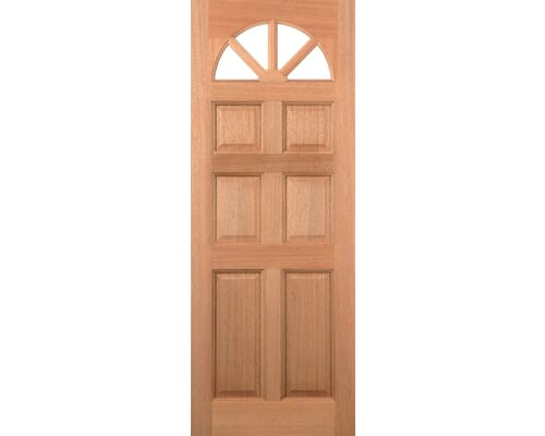 Carolina Unglazed Dowelled Hardwood External Door