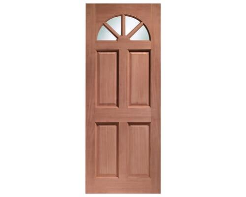 Carolina Clear Glass (single Glazed) Dowelled Hardwood External Doors