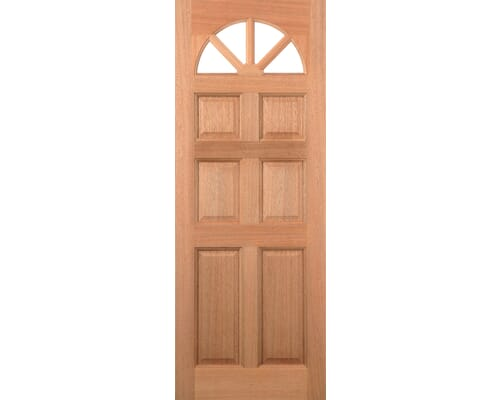 Carolina 6p Hardwood External Doors