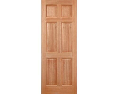 Colonial 6p Dowelled Hardwood External Doors