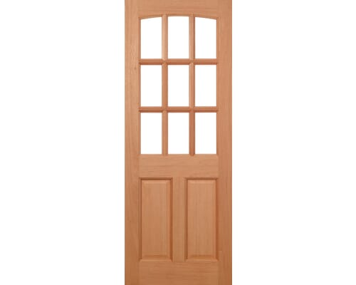 Georgia Dowelled Hardwood External Doors