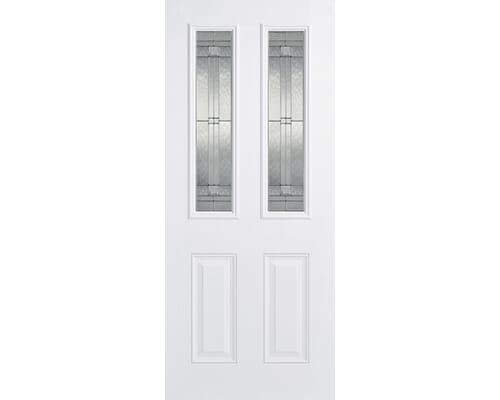 Malton White Glazed Composite External Doors