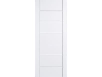 Modica White Composite Door Image