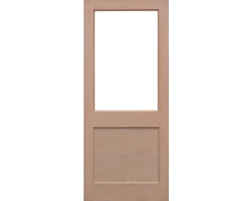 2xg Hemlock Unglazed Hemlock External Doors