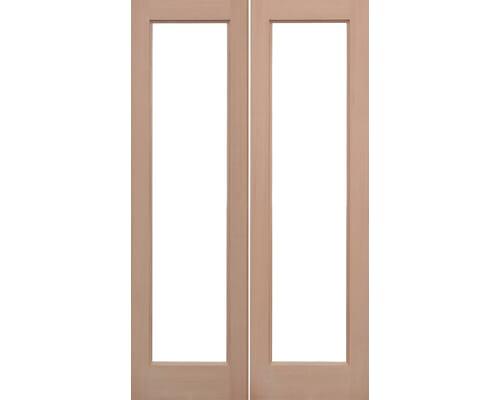 Pattern 20 Hemlock External Unglazed Hemlock External Doors