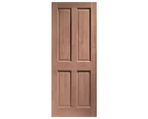 London 4 Panel Dowelled Hardwood External Doors