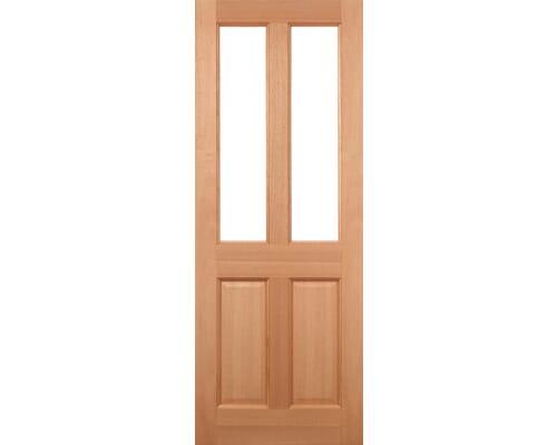 Malton - Hardwood Dowelled Frosted Double Glazed Hardwood External Doors