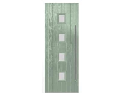 Milton Chartwell Green Composite Door Set Image