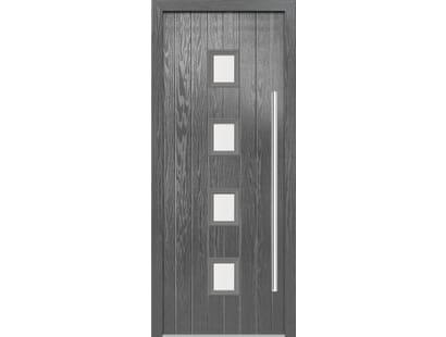 Milton Grey Composite Door Set Image
