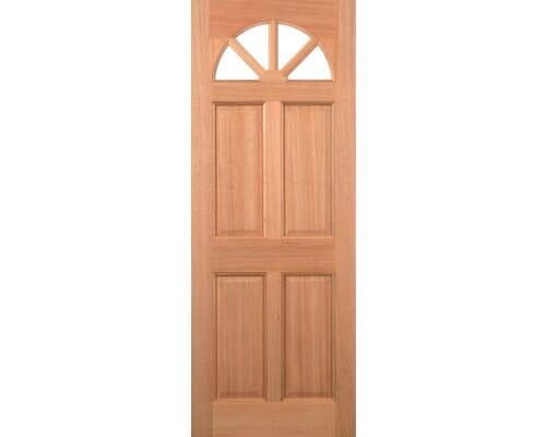 Carolina M&t Clear Double Glazed Hardwood External Doors