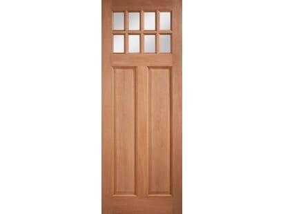 Hardwood Chigwell Clear Glazed External Door Image