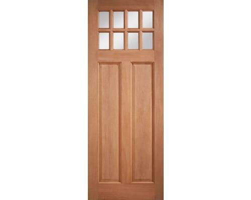Chigwell M&t Double Glazed Clear Glass Hardwood External Doors