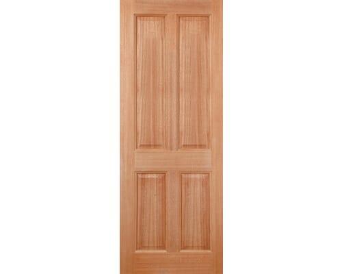 Colonial 4p M&t Hardwood External Doors