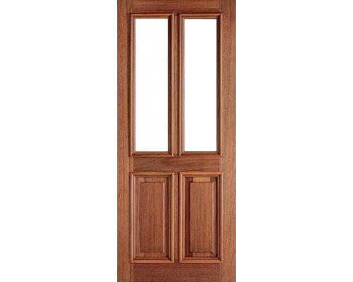 Derby Unglazed Hardwood External Doors