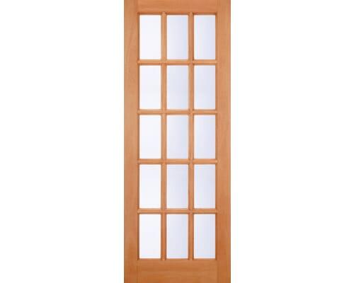 Sa 15 Light Clear Double Glazed Hardwood External Doors