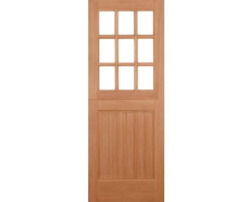 Stable 9l Straight Top Hardwood External Doors