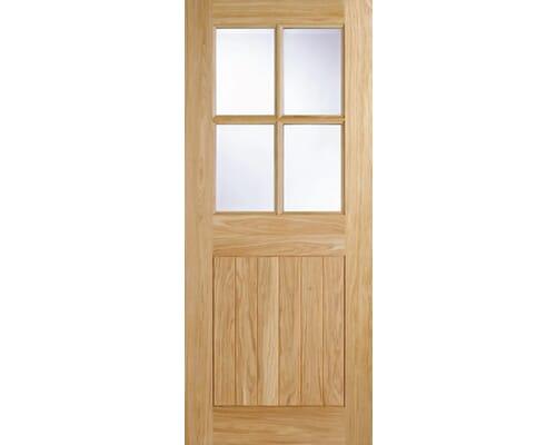Cottage 4l Oak External Doors