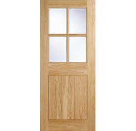 Cottage 4L External Oak Doors Image