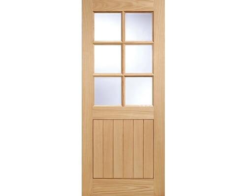 Cottage 6l Oak External Doors