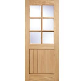 Cottage 6L External Oak Doors Image