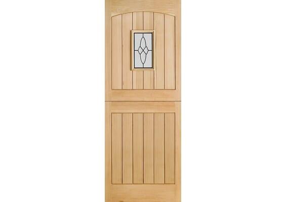 Cottage Stable 1L Oak External Doors