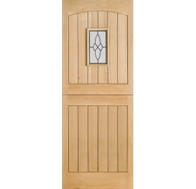 Cottage Stable 1L External Oak Doors Image