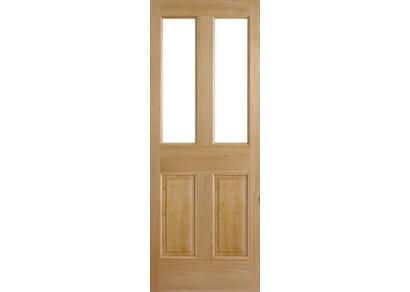Derby Oak Dowelled Unglazed External Doors