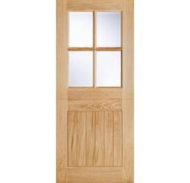 Cottage Stable 4L External Oak Doors Image