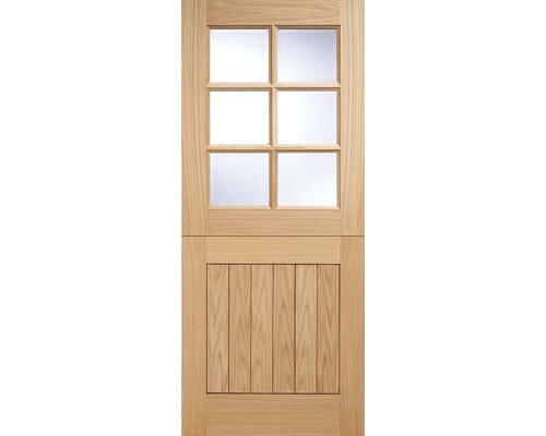 Stable 6l Oak External Doors