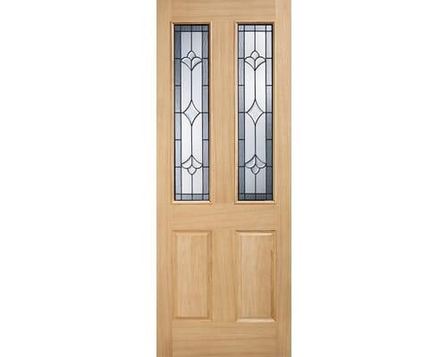 Salisbury Part L Warmer Door Oak External Doors