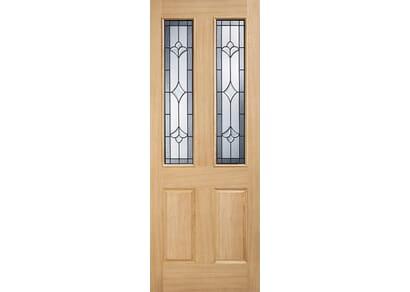 Milldale Part L Oak External Doors