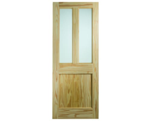 Clear Pine Dowelled Malton With Flemish Glass External Doors