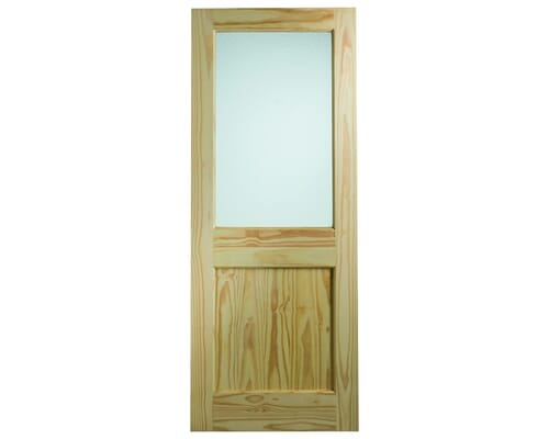 Clear Pine Dowelled 2xg With Flemish Glass External Doors