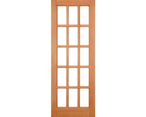 Sa 15 Light Unglazed Hardwood External Doors