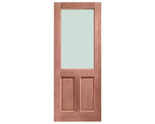 2xg Unglazed Dowelled Hardwood External Doors