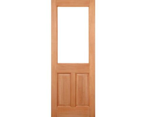 2xg 2 Panel Dowel Hardwood External Doors