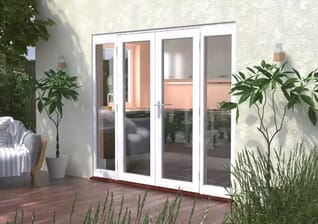 Classic White 58mm French Doors Image