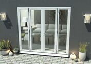Climadoor White Aluminium French Doors Image
